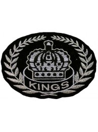NHL LOS ANGELES KINGS HOCKEY EMBROIDERED PATCH #01