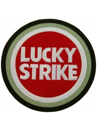 GIANT LUCKY STRIKE F1 BIKER EMBROIDERED PATCH #P2