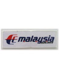 MALAYSIA AIRLINE (MAS) IRON ON EMBROIDERED PATCH #01