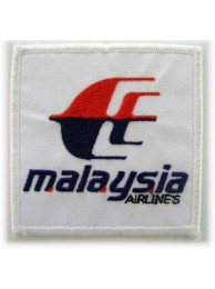 MALAYSIA AIRLINE (MAS) IRON ON EMBROIDERED PATCH #02