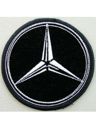 MERCEDES BENZ AUTO RACING IRON ON EMBROIDERED PATCH #01