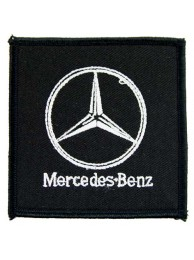 MERCEDES BENZ AUTO RACING IRON ON EMBROIDERED PATCH #02