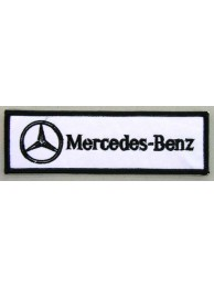 MERCEDES BENZ AUTO RACING IRON ON EMBROIDERED PATCH #04