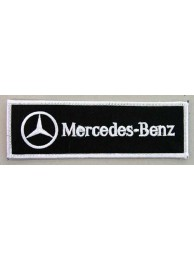 MERCEDES BENZ AUTO RACING IRON ON EMBROIDERED PATCH #05