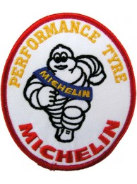 MICHELIN TIRE TYRE RACING SPORT EMBROIDERED PATCH #01
