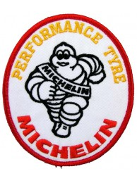 MICHELIN TIRE TYRE RACING SPORT EMBROIDERED PATCH #01a