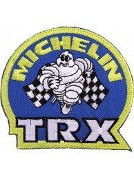 MICHELIN TIRE TYRE RACING SPORT EMBROIDERED PATCH #24