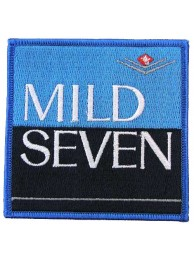 MILD SEVEN TOBACCO RACING EMBROIDERED PATCH #01