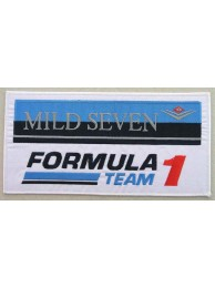 MILD SEVEN TOBACCO RACING EMBROIDERED PATCH #11