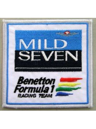 MILD SEVEN TOBACCO RACING EMBROIDERED PATCH #09