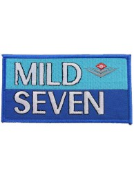 MILD SEVEN TOBACCO RACING EMBROIDERED PATCH #02