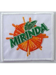 MIRINDA Soda Iron On Embroidered Patch