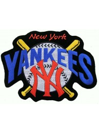 GIANT MLB NEW YORK YANKEES EMBROIDERED PATCH (P1)