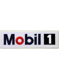 Mobil Oil & Gas F1 Racing Embroidered Patch #02