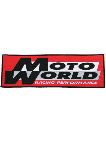 GIANT MOTO WORLD RACING EMBROIDERED PATCH (P)