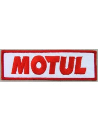 MOTUL BIKER EMBROIDERED PATCH #01