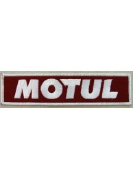 MOTUL BIKER EMBROIDERED PATCH #04