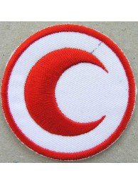 MALAYSIA RED CROSS AMBULANCE IRON ON EMBROIDERED PATCH #02