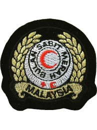 MALAYSIA RED CROSS AMBULANCE IRON ON EMBROIDERED PATCH #06