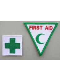 MALAYSIA RED CROSS AMBULANCE IRON ON EMBROIDERED PATCH #10