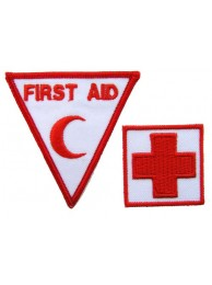 MALAYSIA RED CROSS AMBULANCE IRON ON EMBROIDERED PATCH #11