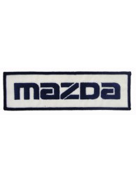 MAZDA AUTO RACING IRON ON EMBROIDERED PATCH #01