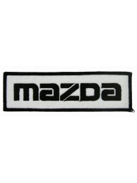 MAZDA AUTO RACING IRON ON EMBROIDERED PATCH #02