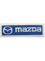 MAZDA AUTO RACING IRON ON EMBROIDERED PATCH #03