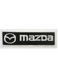 MAZDA AUTO RACING IRON ON EMBROIDERED PATCH #04