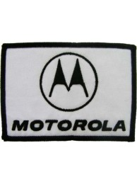 MOTOROLA IRON ON EMBROIDERED PATCH #02