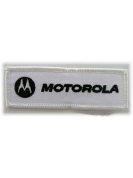 MOTOROLA IRON ON EMBROIDERED PATCH #03