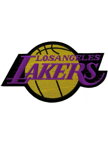 GIANT NBA LOS ANGELES LAKERS BASKETBALL PATCH P02