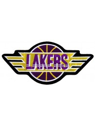 GIANT NBA LOS ANGELES LAKERS BASKETBALL PATCH P03