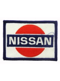 NISSAN AUTOMOBILE EMBROIDERED PATCH #02