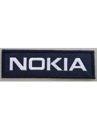 NOKIA LOGO EMBROIDERED PATCH #01
