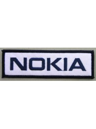 NOKIA LOGO EMBROIDERED PATCH #02