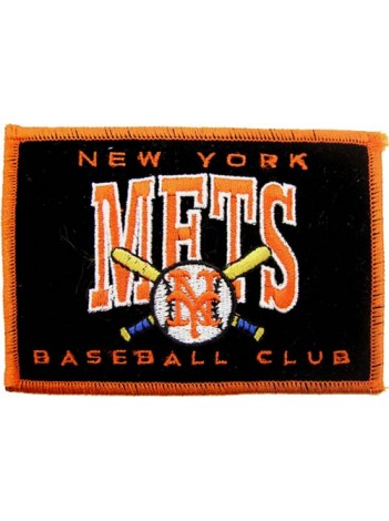 MLB BASEBALL NEW YORK METS EMBROIDERED PATCH #01