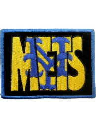 MLB BASEBALL NEW YORK METS EMBROIDERED PATCH #04