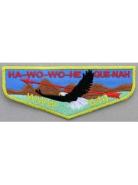 BSA OA FLAP 644 HA-WO-WO-HE QUE-NAH PATCH