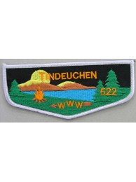 BSA OA FLAP LODGE 522 TINDEUCHEN  PATCH