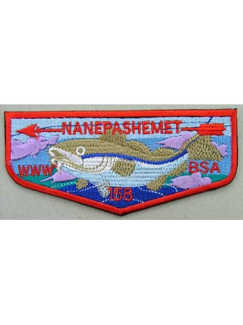 BSA OA FLAP 158 NANEPASHEMET PATCH