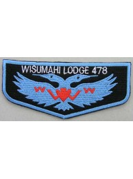 OA Lodge 478 WISUMAHI PATCH
