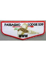 BSA OA FLAP 539 PASSAQUO PATCH