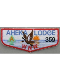 BSA OA FLAP 359 AHEKA PATCH
