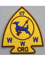 BSA OA Lodge 117 CRO PATCH #02
