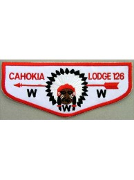 OA Lodge 126 CAHOKIA PATCH