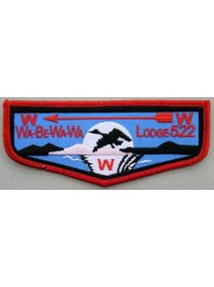 BSA OA FLAP 522 WA-BE-WA-WA PATCH