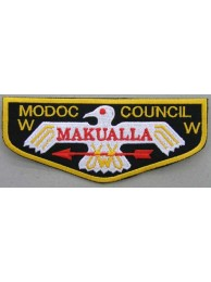 BSA OA FLAP MODOC COUNCIL MAKUALLA PATCH
