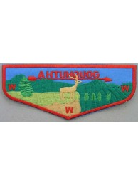 BSA OA FLAP AHTUHQUOG PATCH