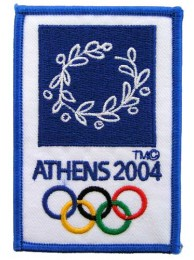 2004 ATHENS OLYMPIC GAMES EMBROIDERED PATCH
